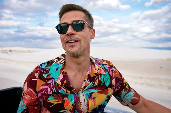 Brad pitt como llevar camisa hawaiana