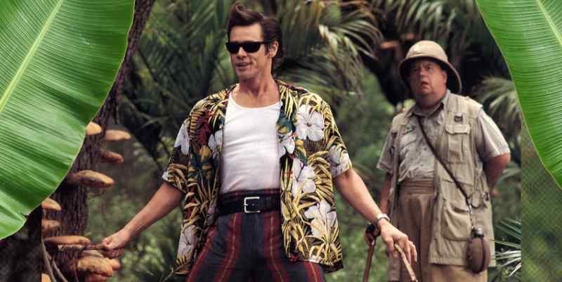 Camisa Hawaiana de hombre pelicula Ace Ventura