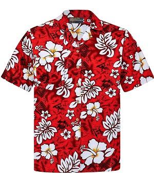 Camisa hawaiana estilo vintage