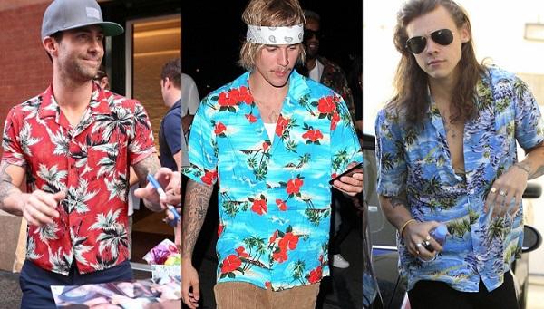 camisas Hawaianas como llevar
