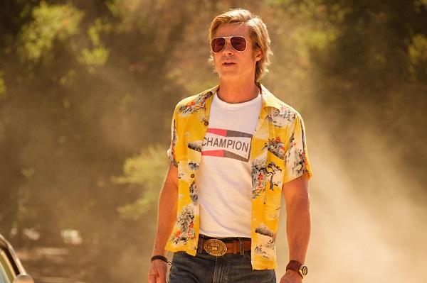 once upon a time in hollywood brad pitt camisa hawaiana amarilla